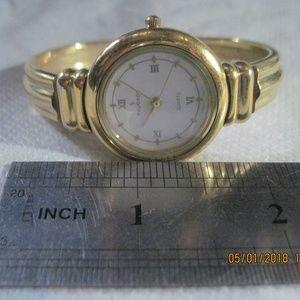 Peugeot Women's Quarts Gold-Tone Watch